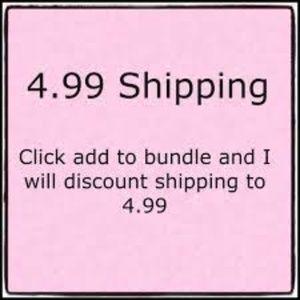 Denim - $4.99 Shipping